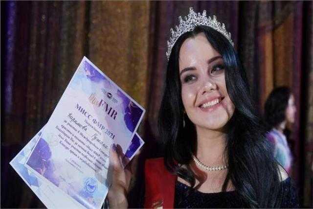 """""""أوزبكية"""" تفوز بمسابقة ملكة جمال المهاجرات في موسكو"""